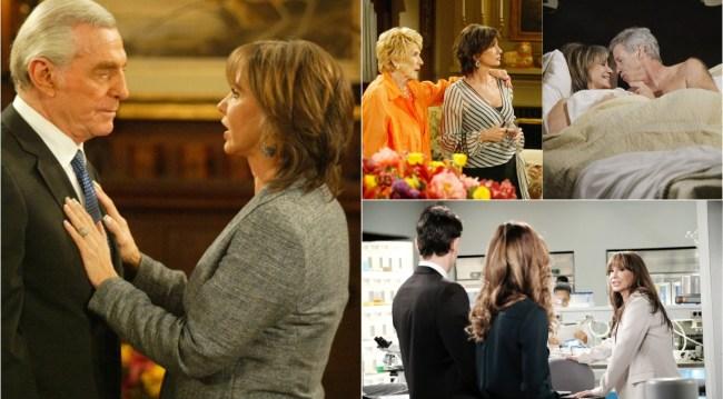 Jess Walton, Jill Foster Abbott anniversary collage