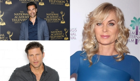 Jordi Vilasuso, Eileen Davidson, Greg Vaughan birthdays Days, Y&R