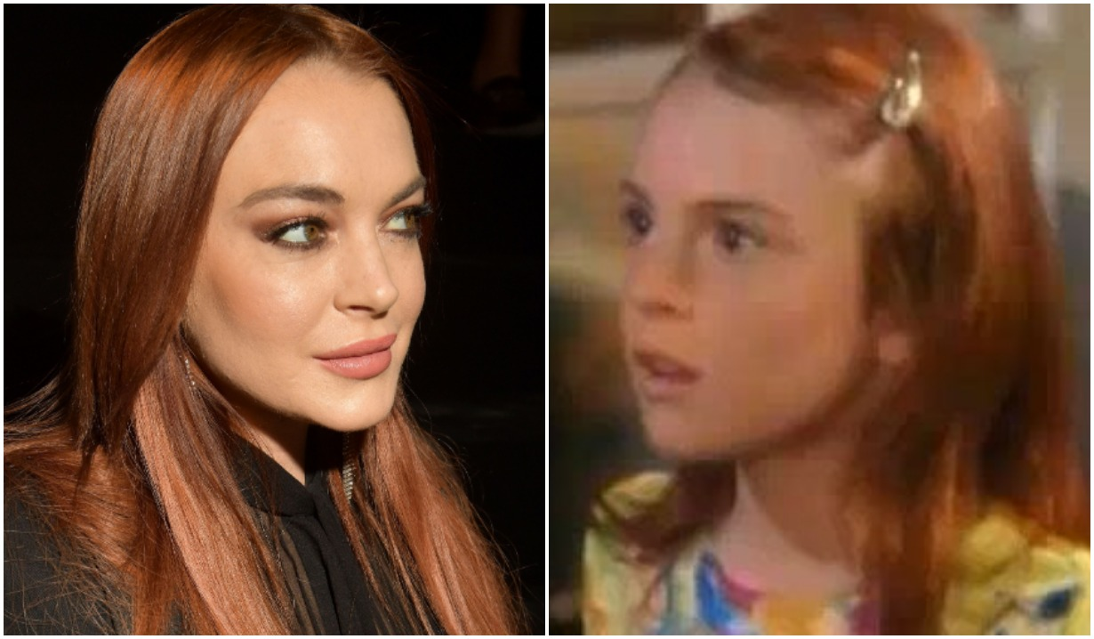 stars who did soap operas lindsay lohan another world