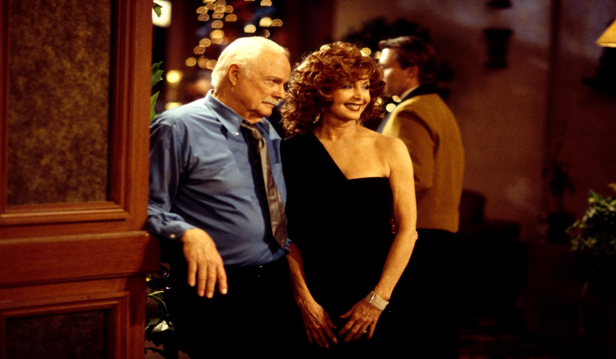 Mickey and Maggie at a party Days of our Lives