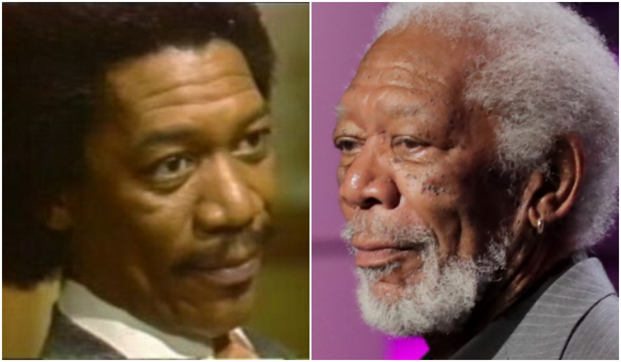 stars who did soap operas morgan freeman