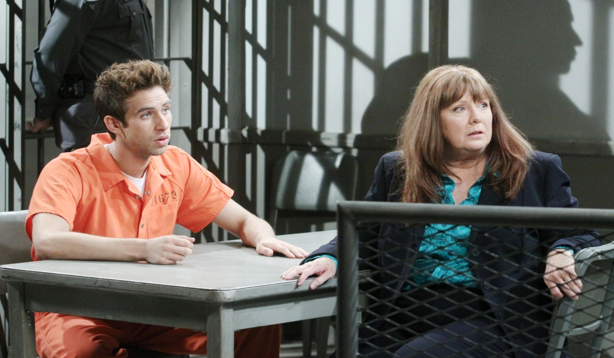 Jessica visits Nick in prison Days of our Lives