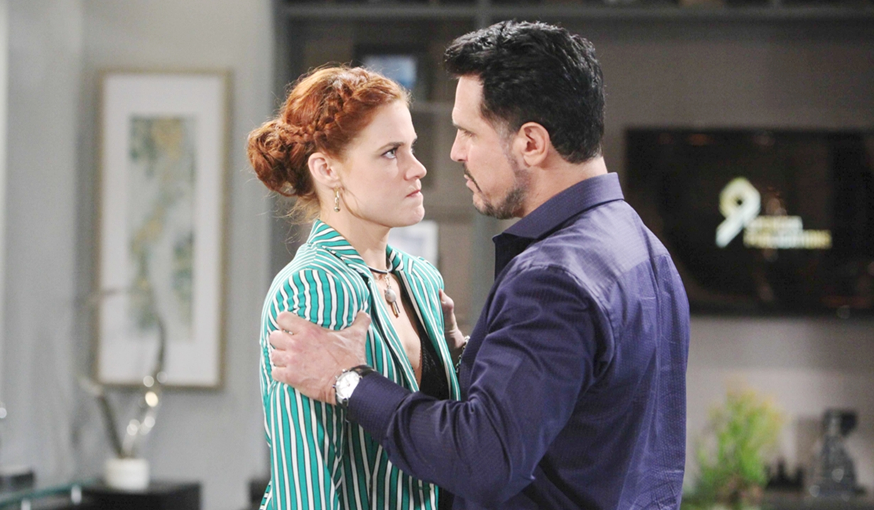 Sally, Bill confrontation B&B