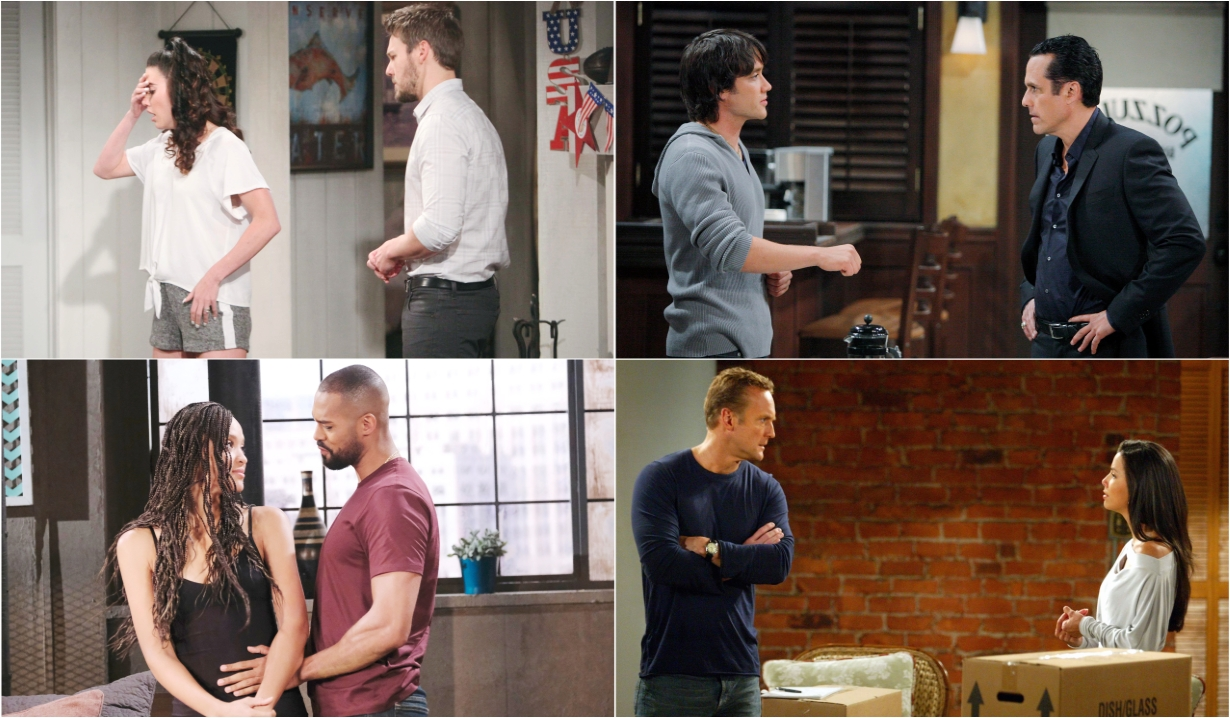 6-27-20 spoilers for bold and beautiful days of our lives general hospital young and restless