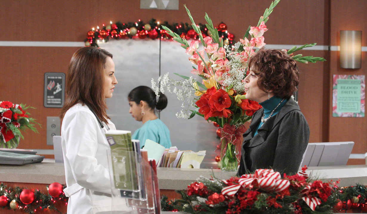 Vivian and Carly on Days