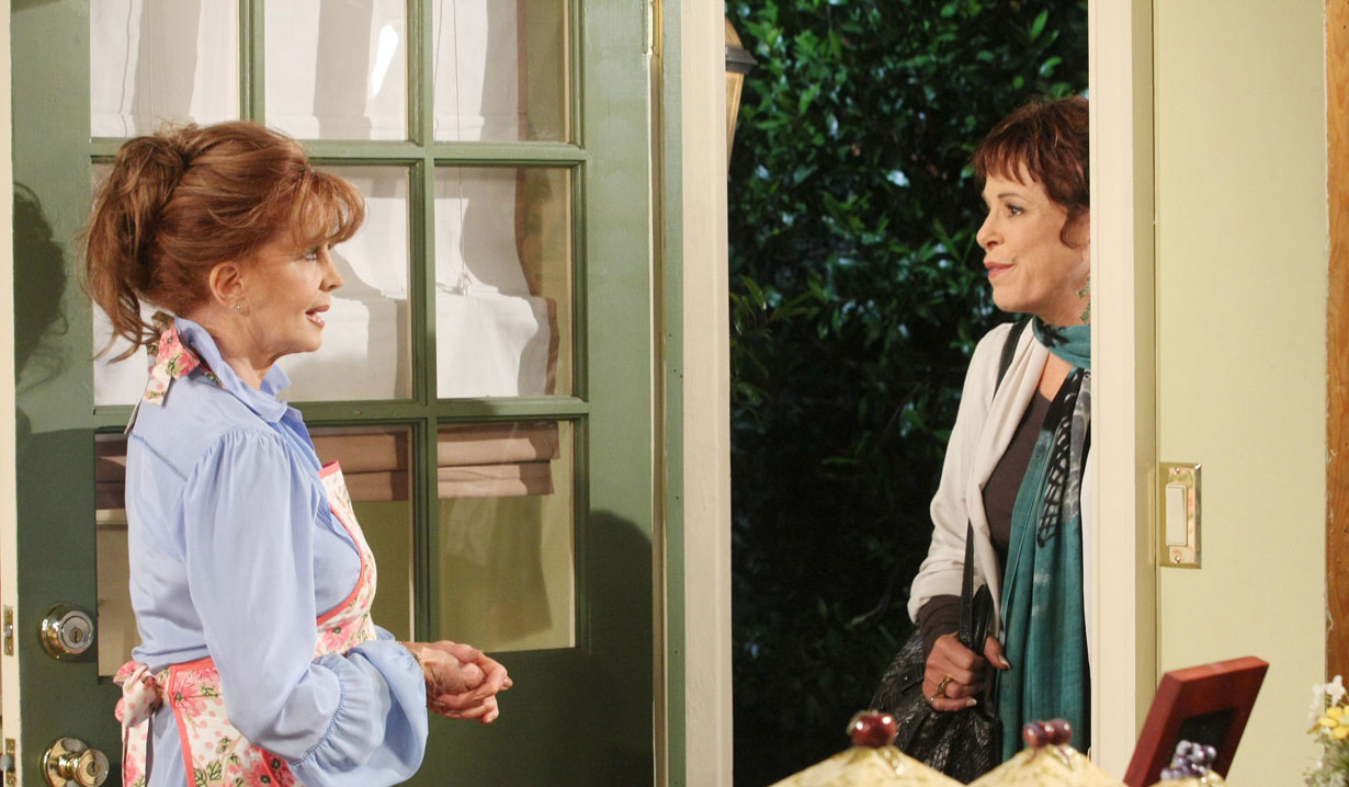 Vivian and Maggie on Days