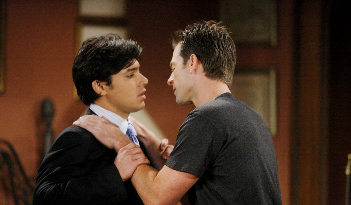 Rafe and Adam's seduction on Y&R