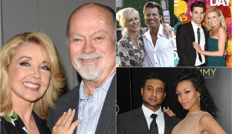 Young & Restless real-life partners collage Y&R