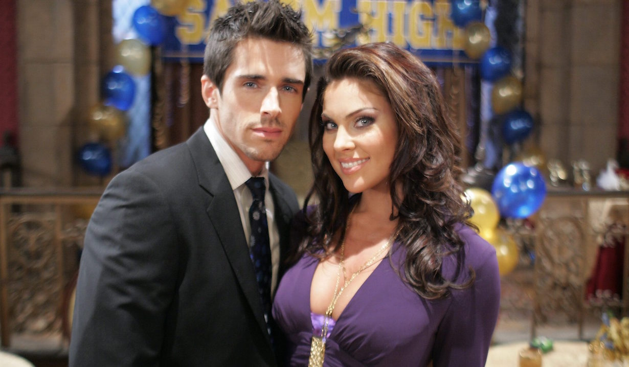 surprising real life soap couples Nadia Bjorlin Brandon Beemer
