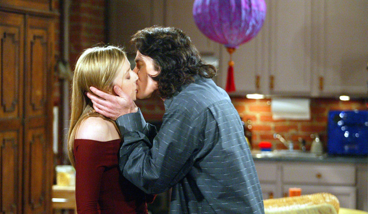 Ridge and Bridget kiss on B&B