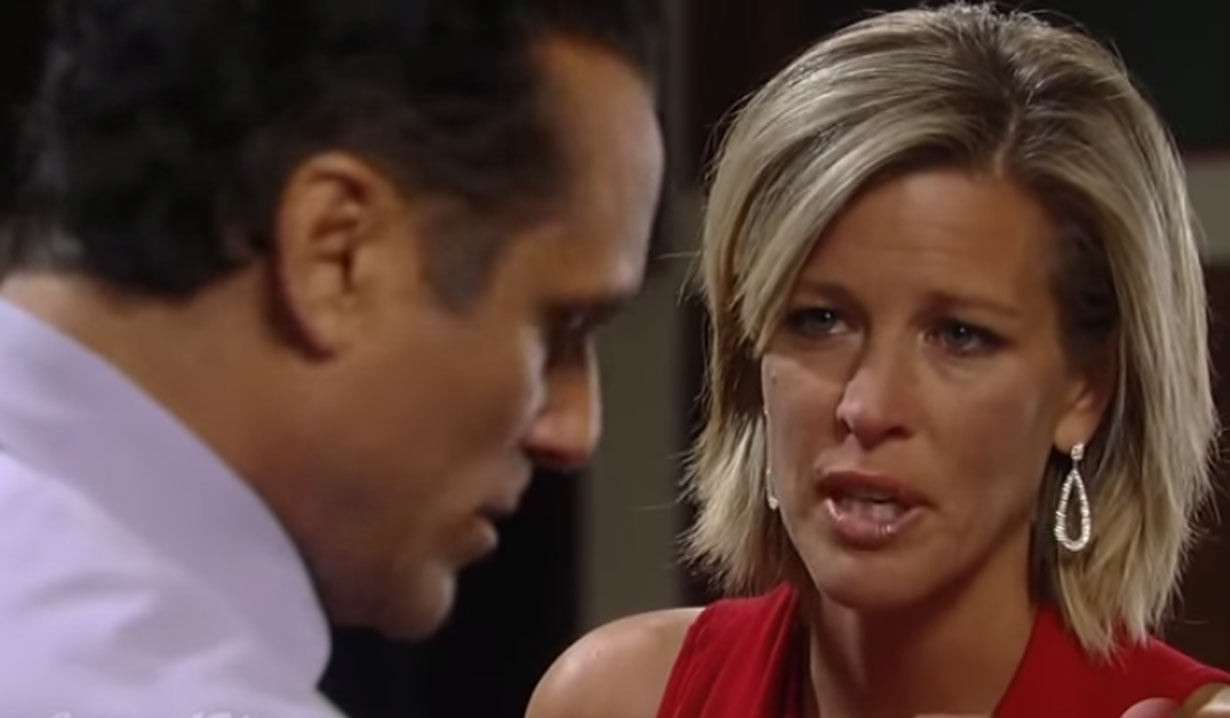 carly confronts sonny for being off his meds gh