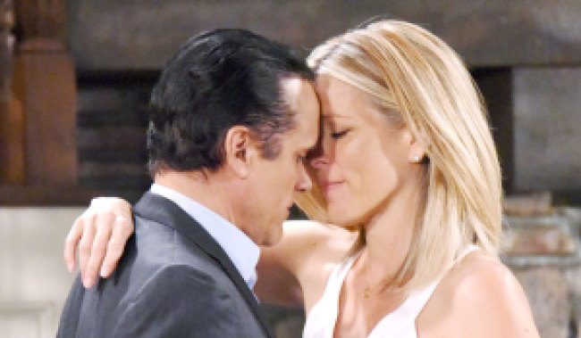 carly and sonny moments week on GH