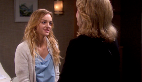 Claire asks Marlena for help Days of our Lives