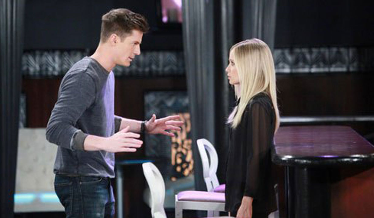Dillon and Lulu on the Haunted Star GH