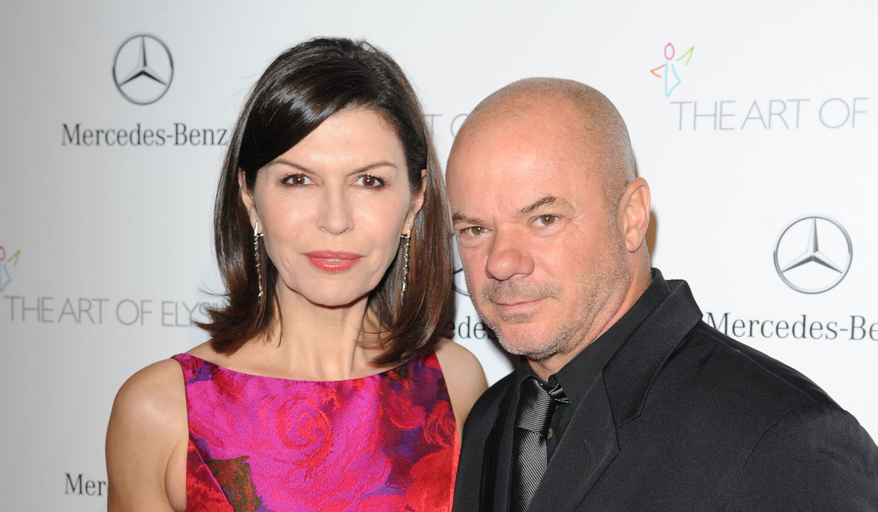 Russell Young and GH's Finola Hughes