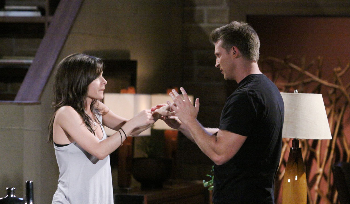 Jason proposes to Sam on GH