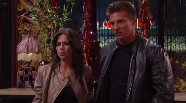 Jason and Sam on GH