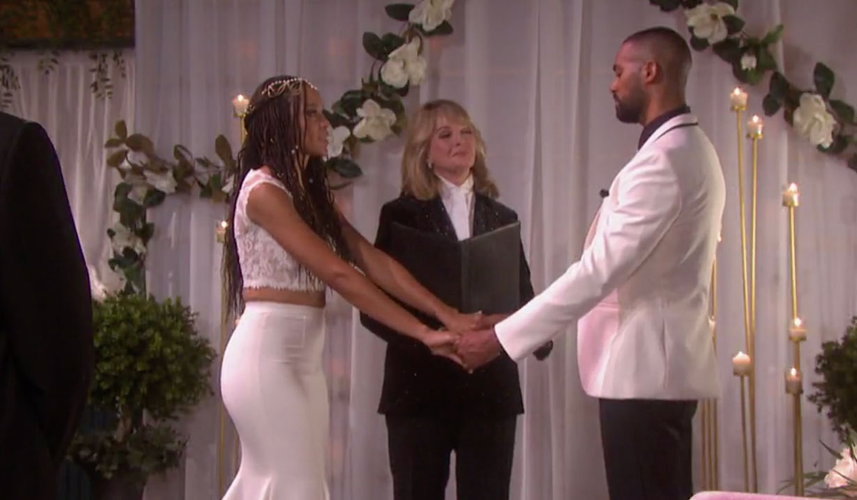 Lani and Eli's Wedding Days of our Lives