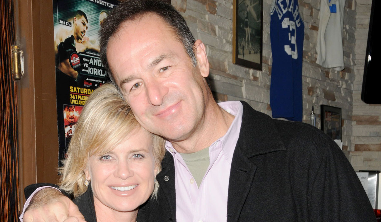 Mary Beth Evans and husband Days