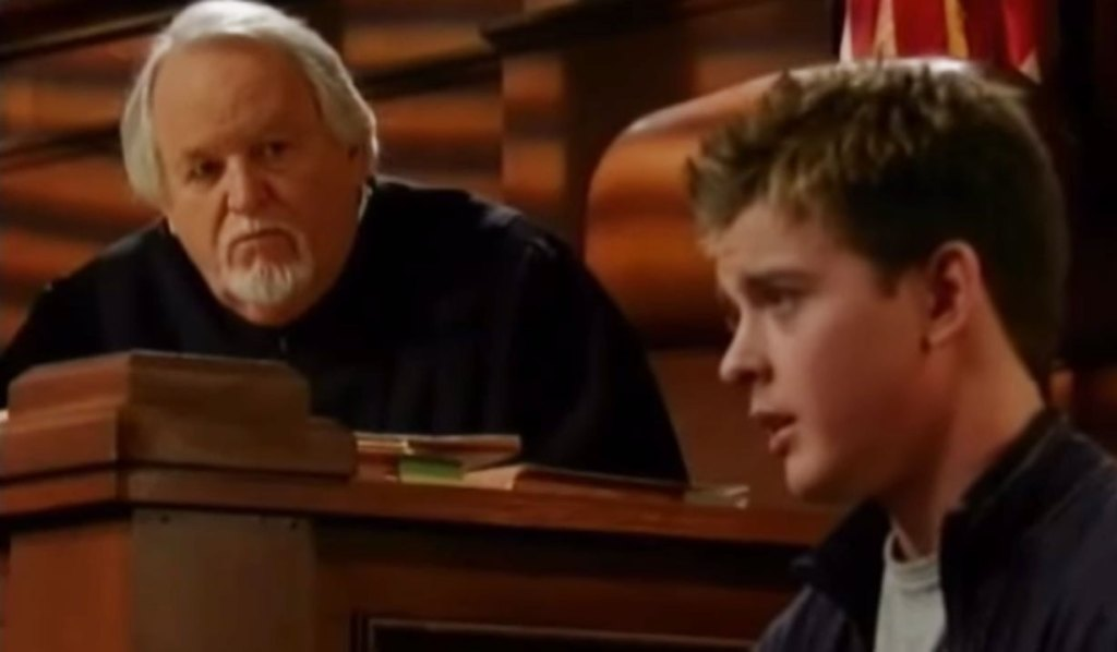 michael is sentenced to prison gh