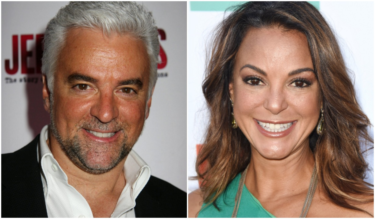 surprising real life soap couples Eva LaRue John O'Hurley