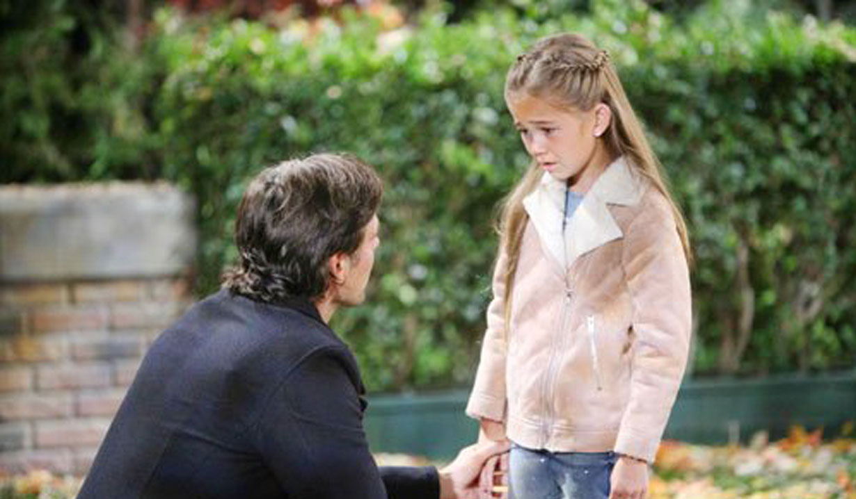 Patrick breaks bad news to Emma on GH