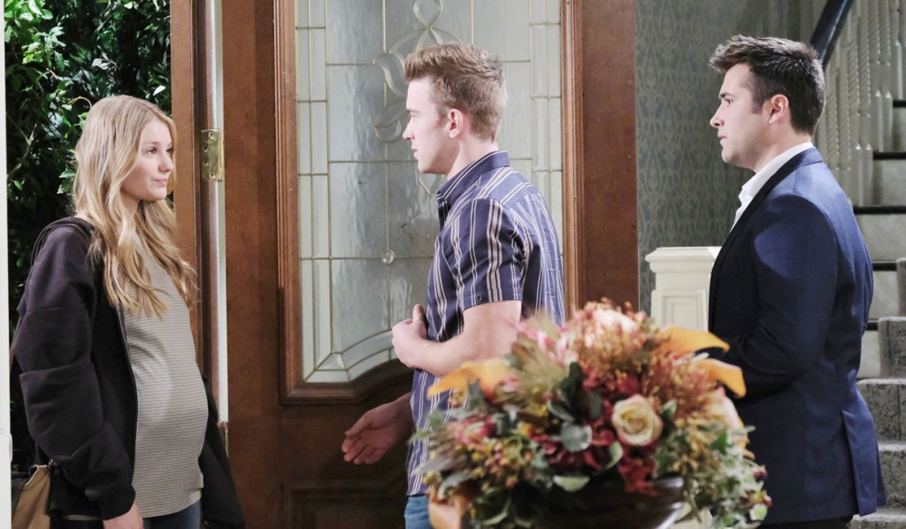 Will and Sonny are reunited with Allie on Days