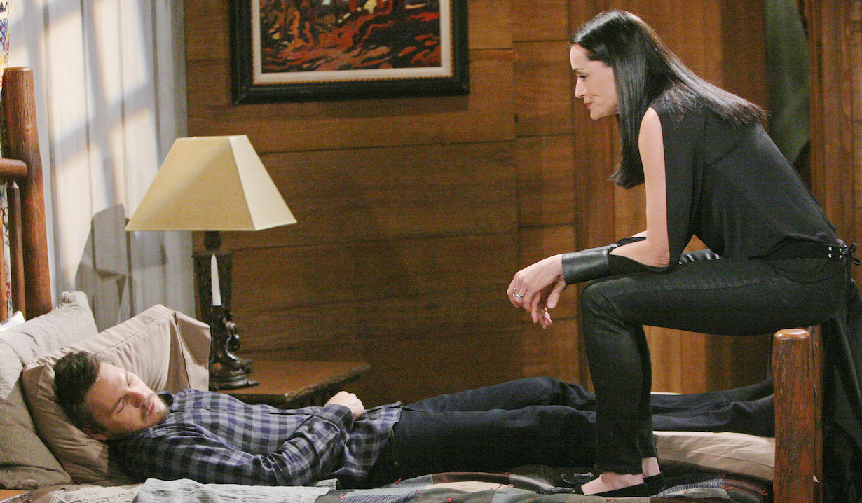 Quinn holds Liam captive on Bold and Beautiful
