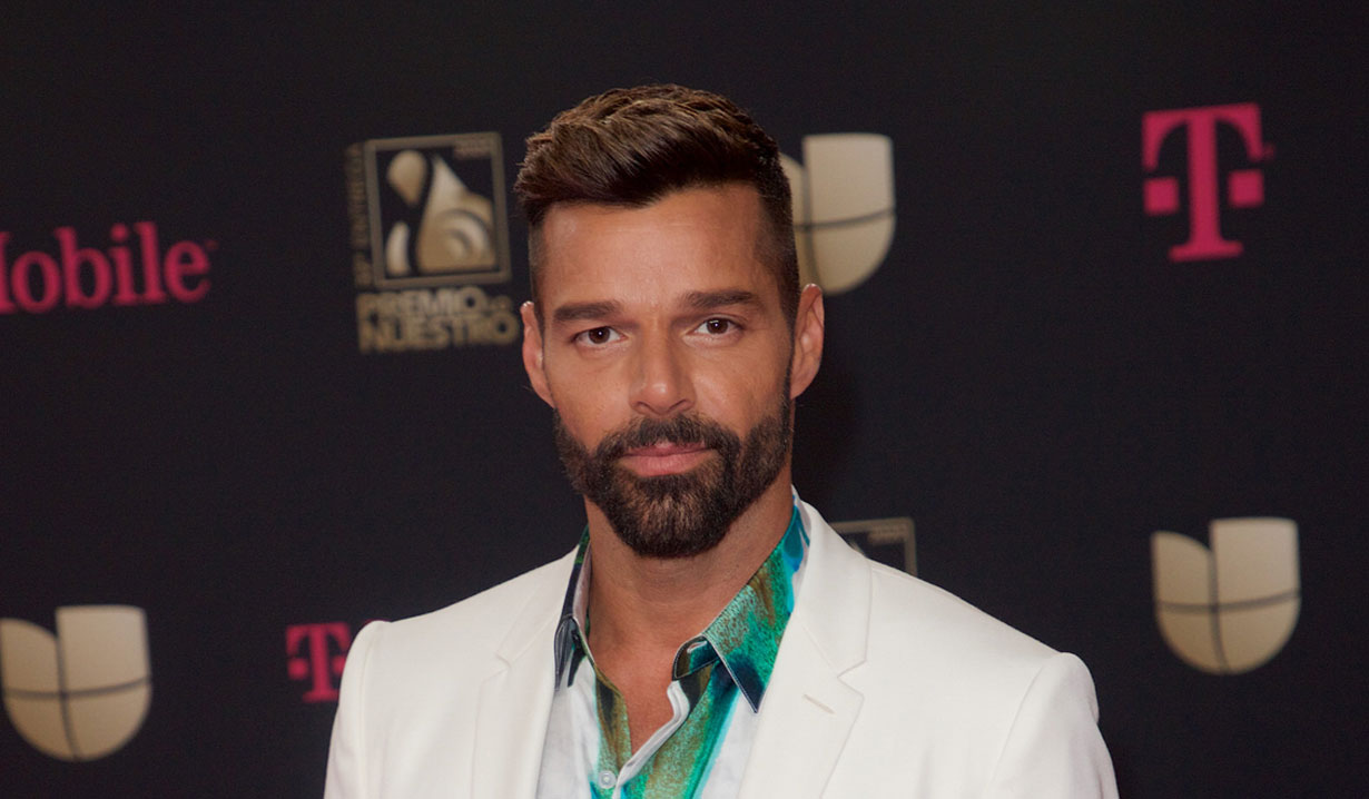 Ricky Martin singer and GH