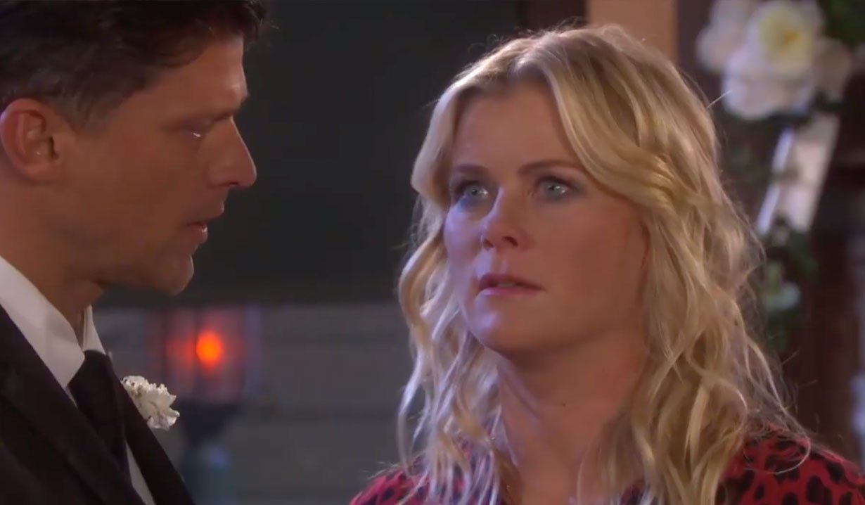 Sami crashes Eric and Nicole's wedding on Days