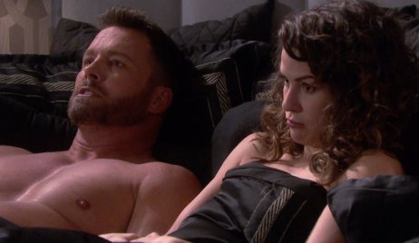 Sarah and Brady get naked on Days