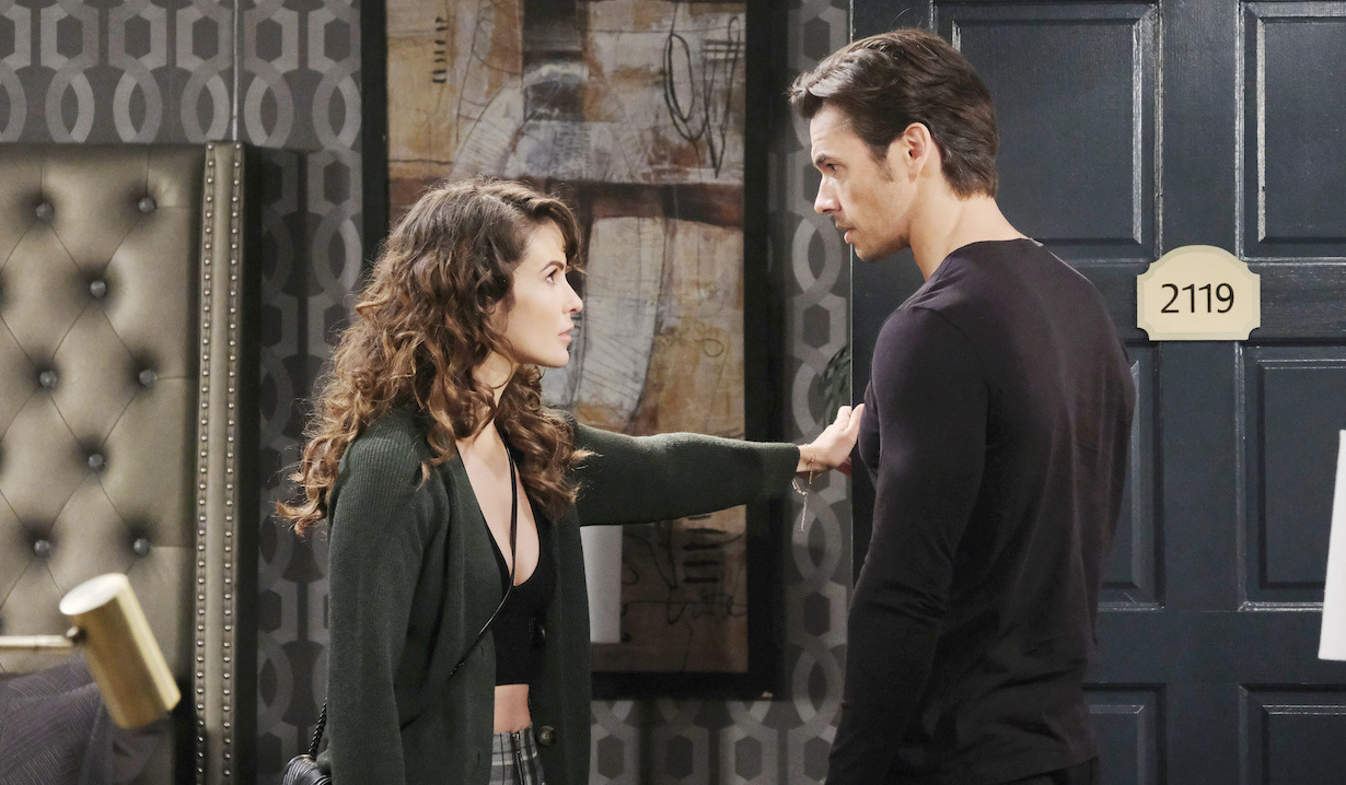 Sarah furious with Xander on Days of our Lives