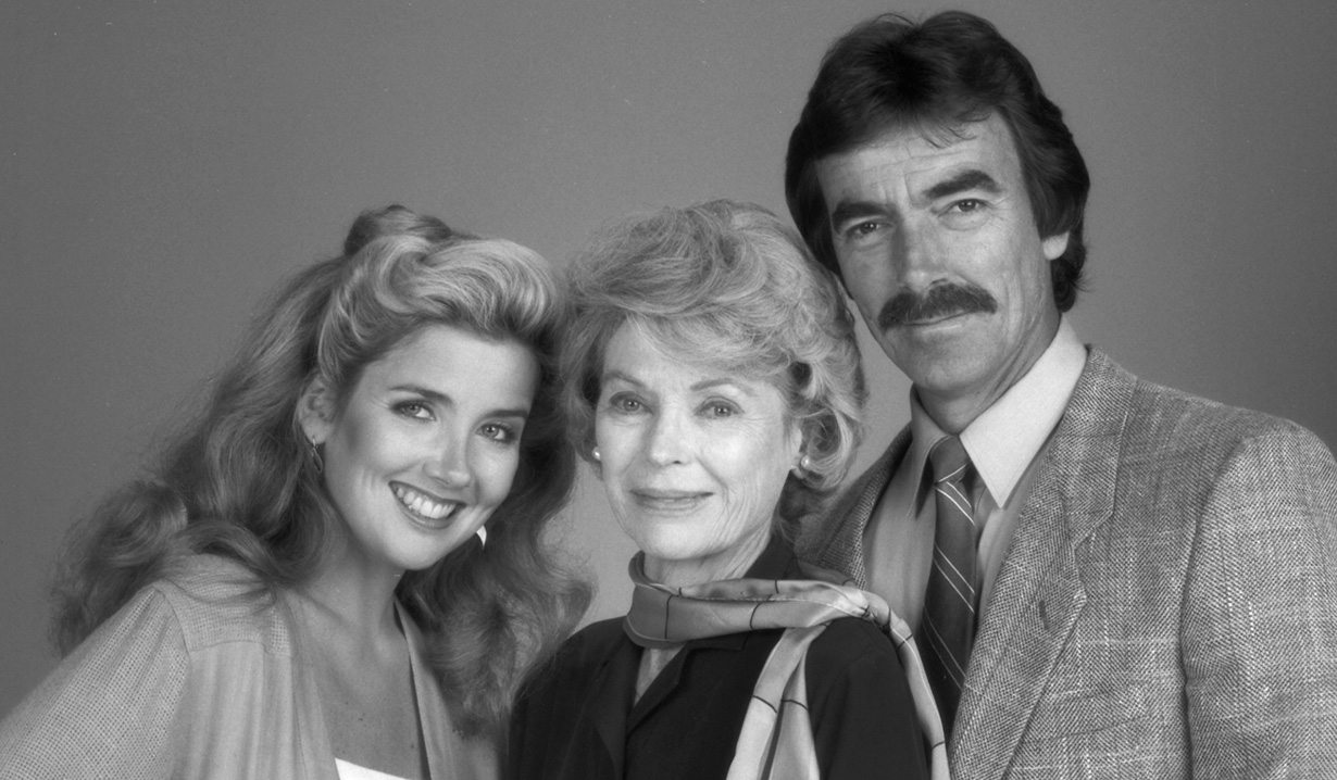 Classic Nikki, Victor and Cora of Y&R