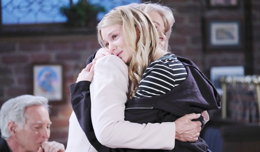 Allie hug Marlena Days