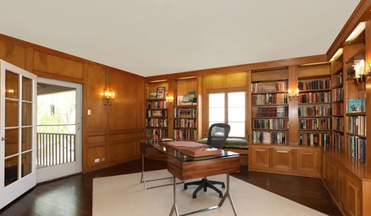 Ashley Benson home library days