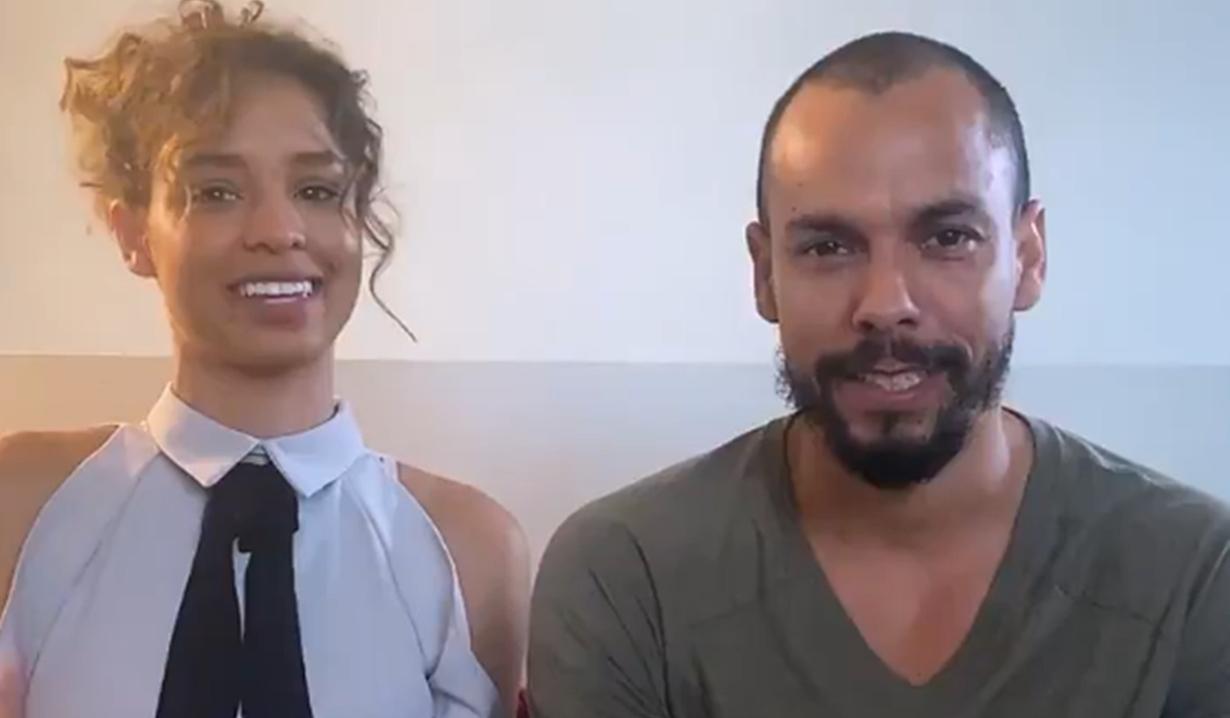 Brytni Sarpy Bryton James Co-Worker Quiz Video Y&R