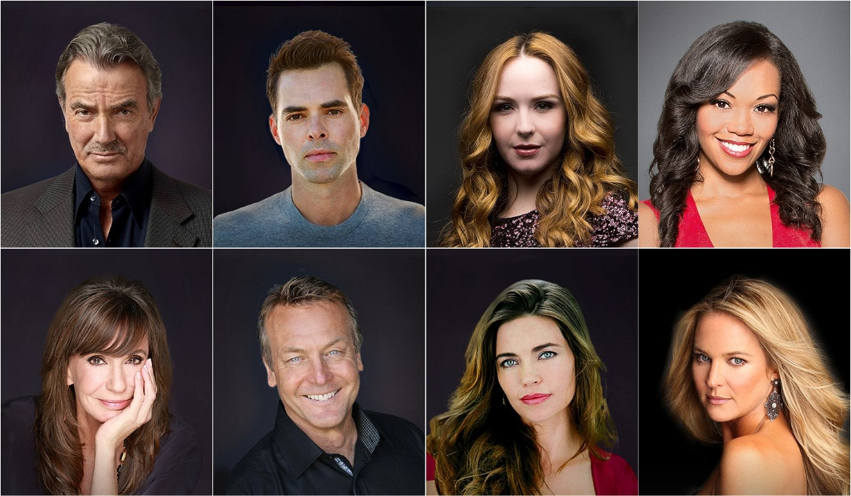 Cast collage Y&R