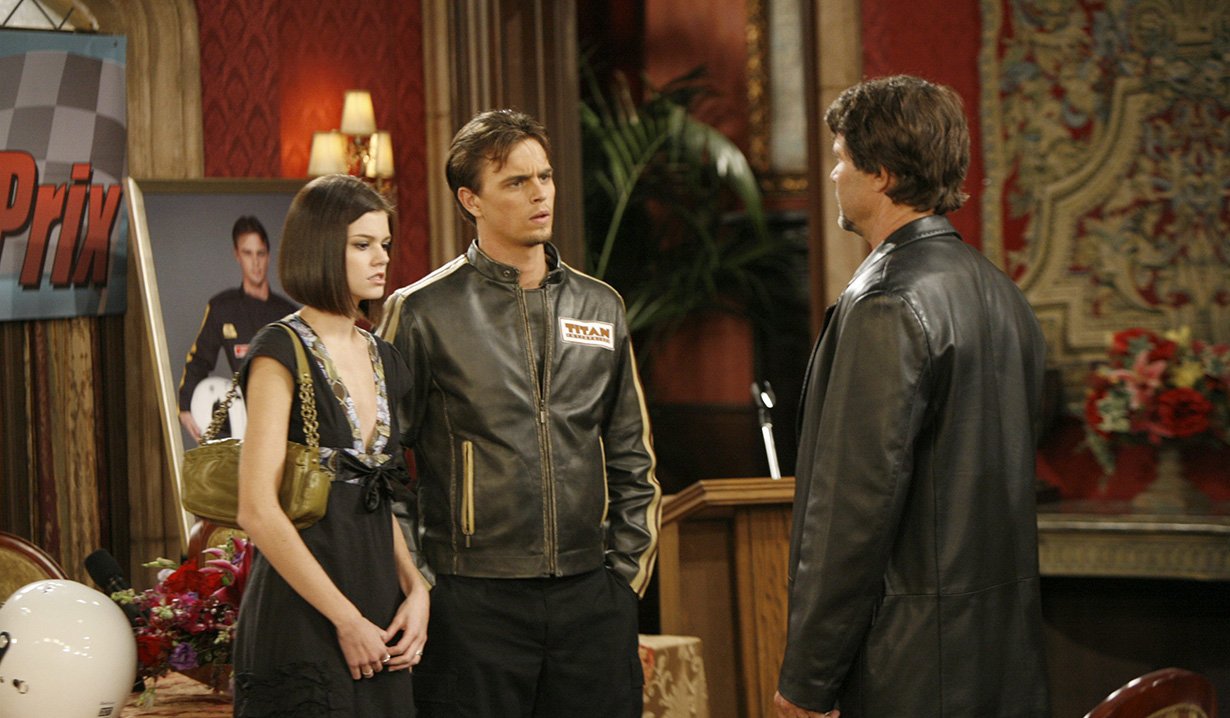 Peter Reckell, Rachel Melvin, Darin Brooks days