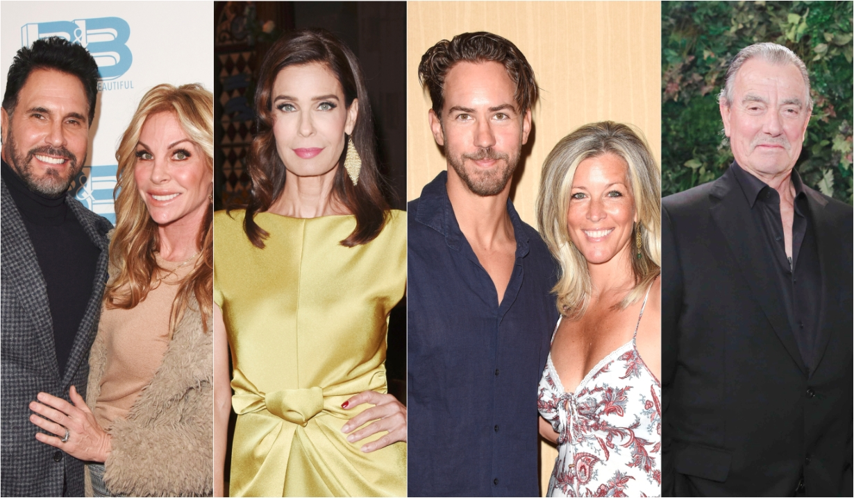Don Diamont Kristian Alfonso Wes Ramsey Laura Wright Eric Braeden Days B&B Y&R GH