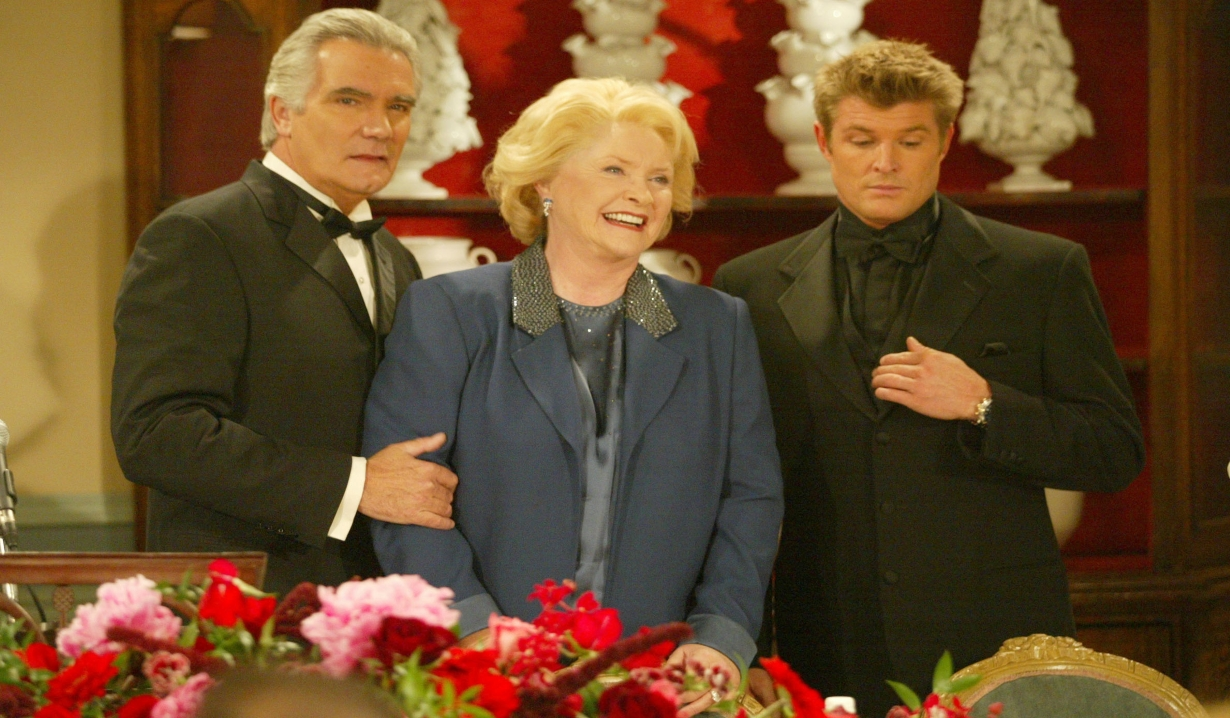 Winsor Harmon as Thorne with his parents, Eric and Stephanie