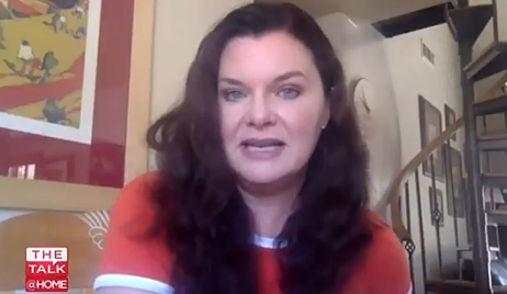 Heather Tom The Talk interview B&B