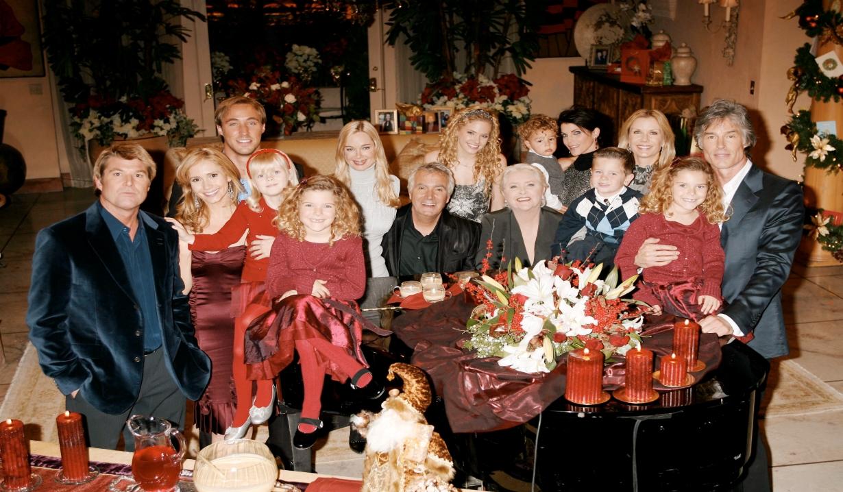 Forrester family portrait for Christmas