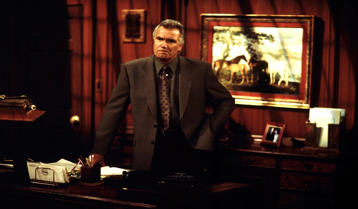 John McCook as Eric Forrester of Forrester Creations