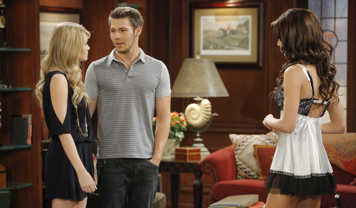 liam hope and steffy B&B