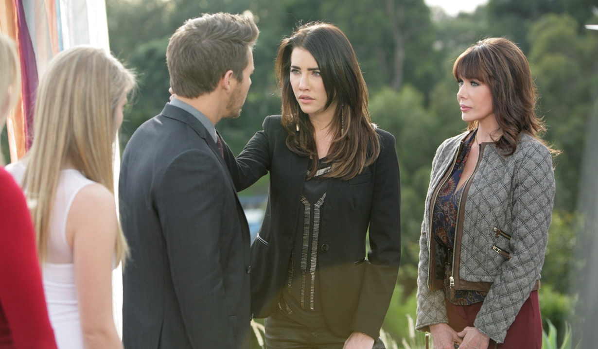 Liam, Steffy, Hope pregnant B&B
