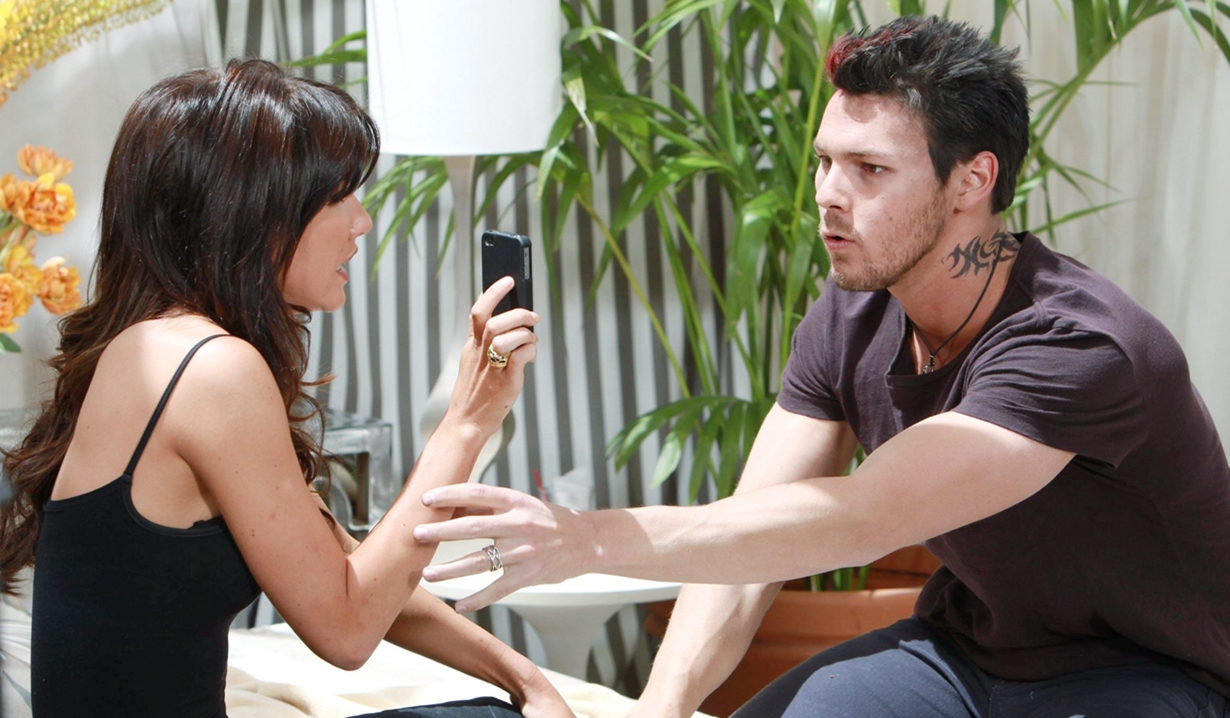 Steffy, Liam tattoos B&B