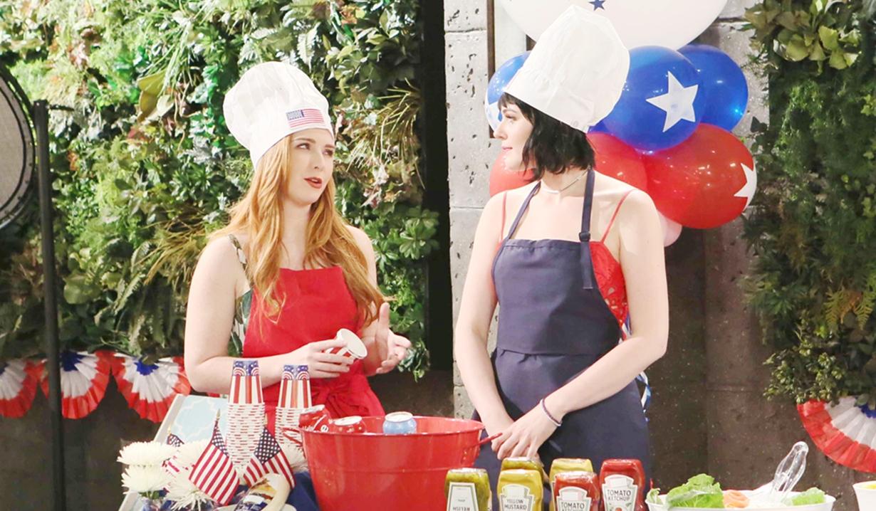 Mariah, Tessa BBQ Y&R