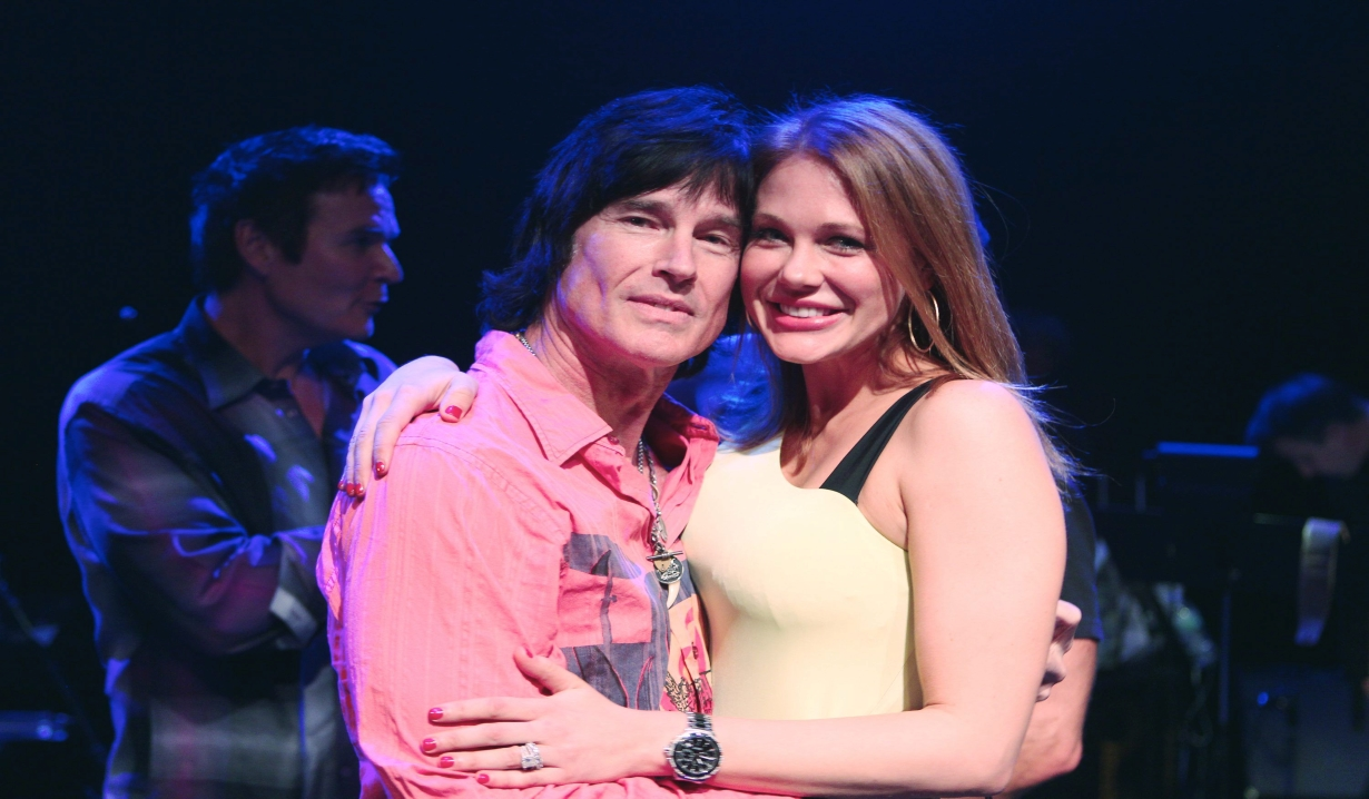 Ronn Moss with Maitland Ward