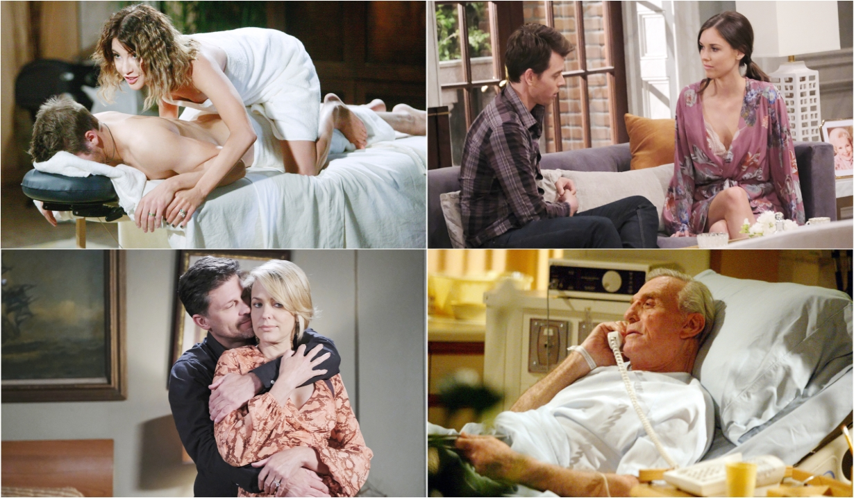 7-11-20 spoilers for bold and beautiful days of our lives general hospital young and restless