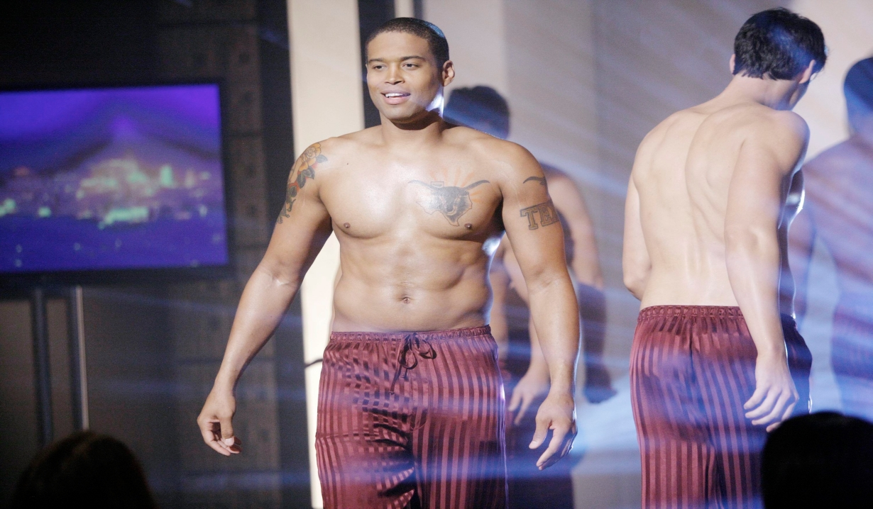 Marcus on the runway